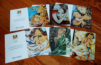 5×7 Full Color Art Cards ~ 26 styles restocked!