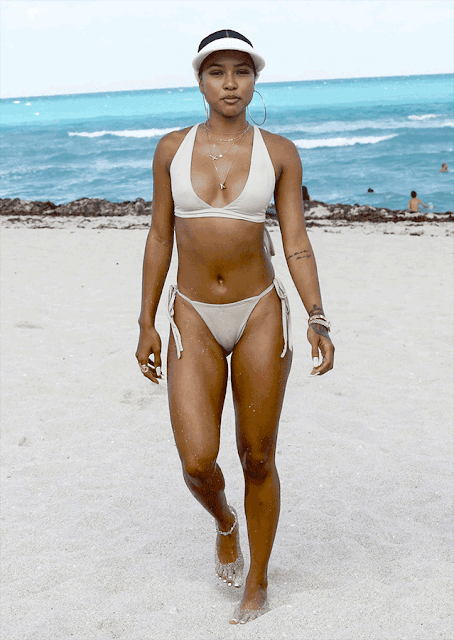 Karrueche Tran Shows Off Camel Toe In New 18 Photos Tsb