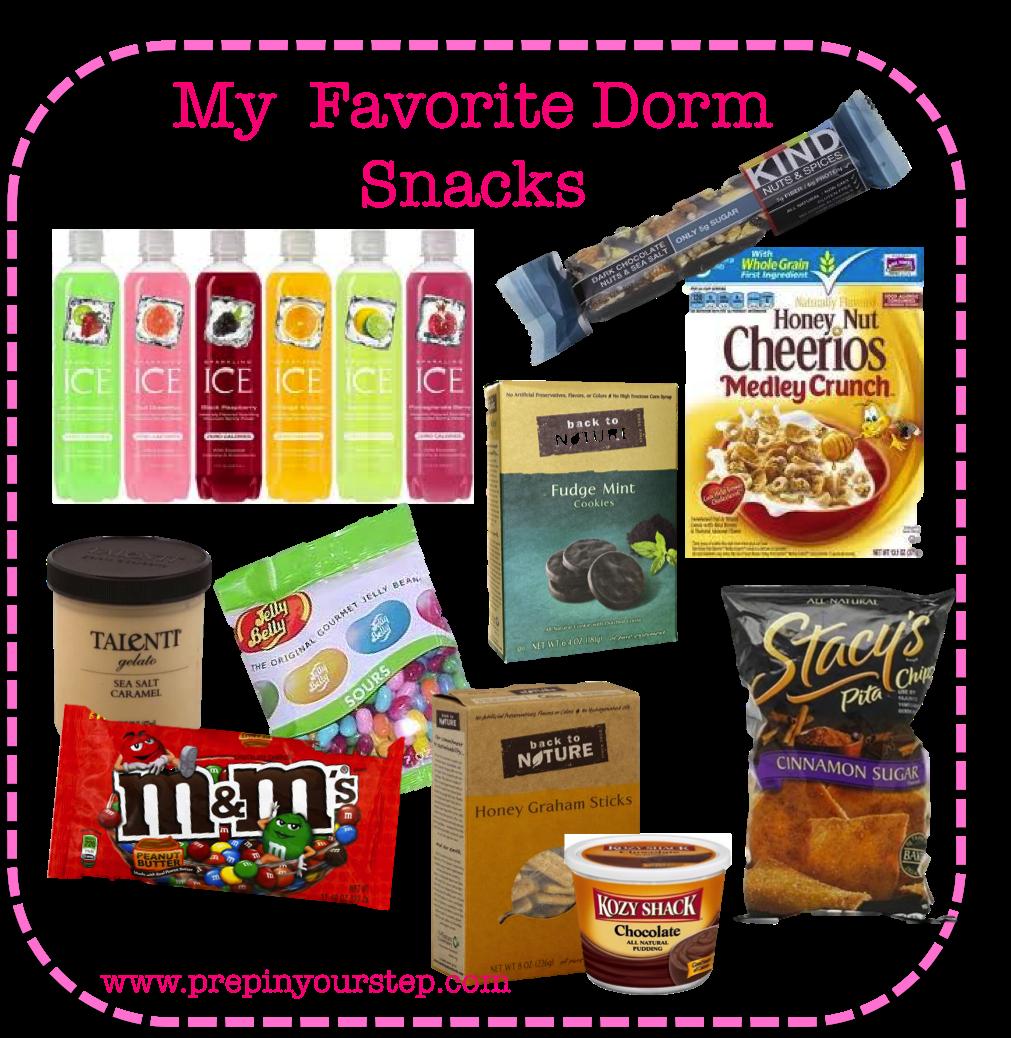 Healthy Dorm Room Food