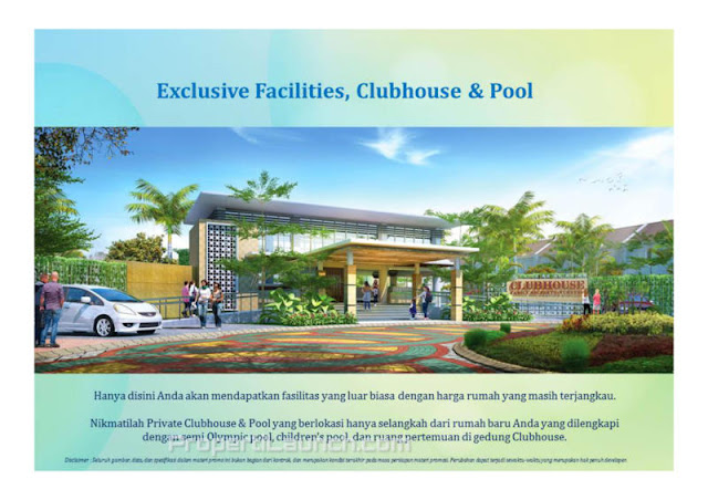 Clubhouse Paradise Serpong City
