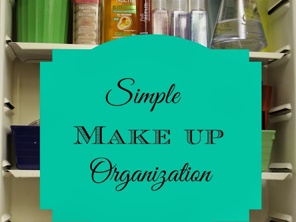 Simple Make up and Nail Cleaning Kit Organization