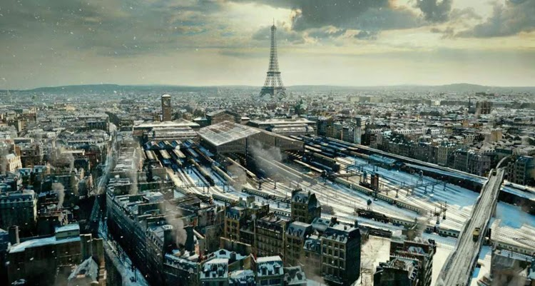 Paryż w filmach, wnętrza filmowe, architektura Paryża