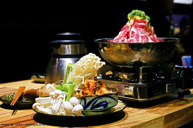 MG 3842 - 熱血採訪│華美西街低調外觀的臧拙深夜食堂,安格斯火山泡菜牛肉鍋隨時就要噴發