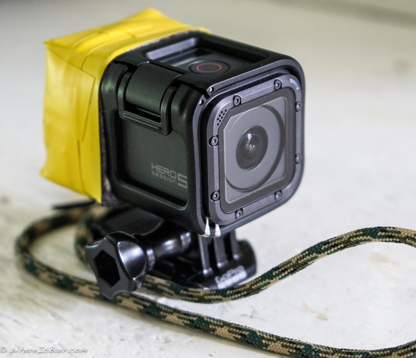 how to set raw on gopro hero5 session