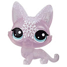 Littlest Pet Shop Series 4 Frosted Wonderland Tube Lynx (#No#) Pet