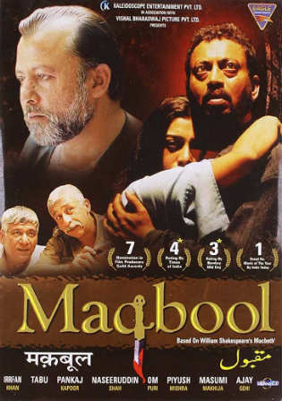 Maqbool 2003 DVDRip 300MB Full Hindi Movie Download 480p Watch Online Free bolly4u