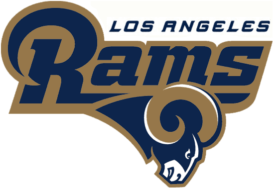 9eac4159dfe The Rams also unveiled a throwback-ish wordmark (seen at the top of their  revamped website)