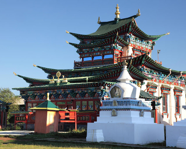 Иволгинский дацан, храм-дворец Хамбо Ламы XII-го Этигэлова