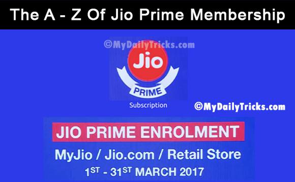 The A - Z Of Jio Prime Membership