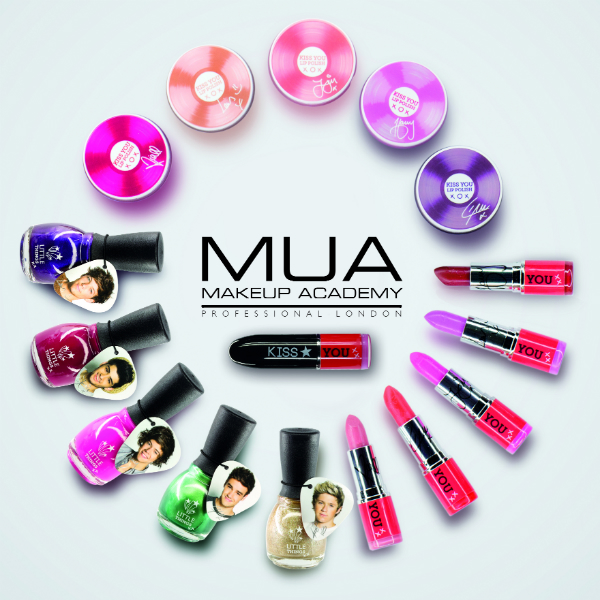 One Direction collaborates with Make Up Academy on a cosmetics collection