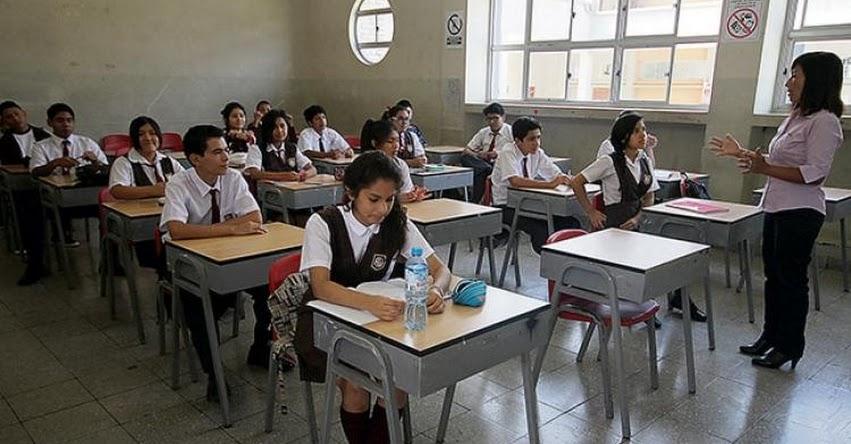 Más de 125 mil escolares tendrán doble certificación. Alumnos podrán convalidar en institutos (R. VM. Nº 326-2019-MINEDU)