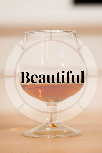 The beautiful is a simple yet potent blend of cognac and Grand Marnier.