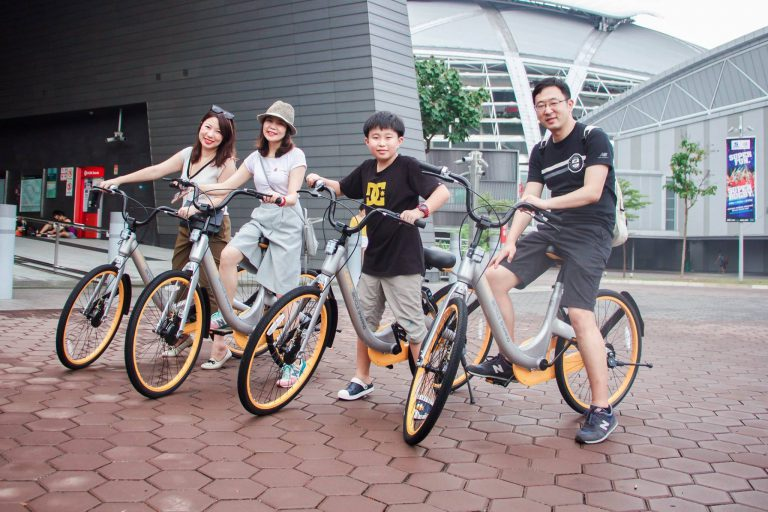 oBike said it currently has one million active users.