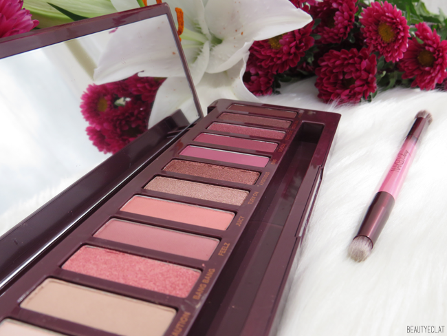 urban decay naked cherry miroir et pinceau