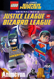 Lego DC Comics Super Heroes: Justice League vs Bizarro League -  2015 Poster