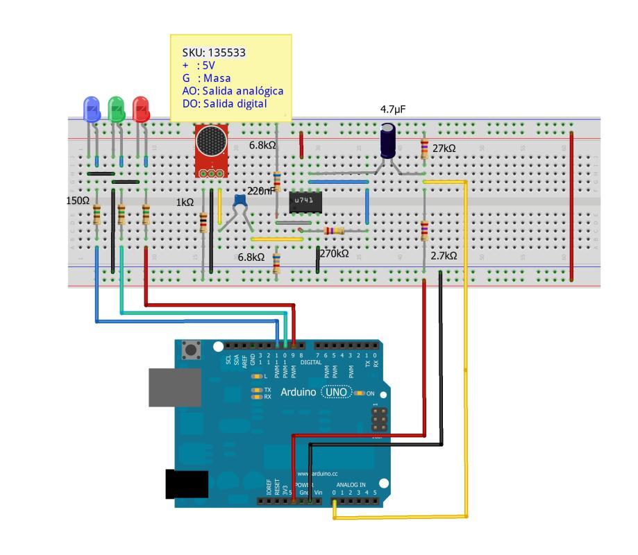 Arduino light organ (II) | Cool Arduino