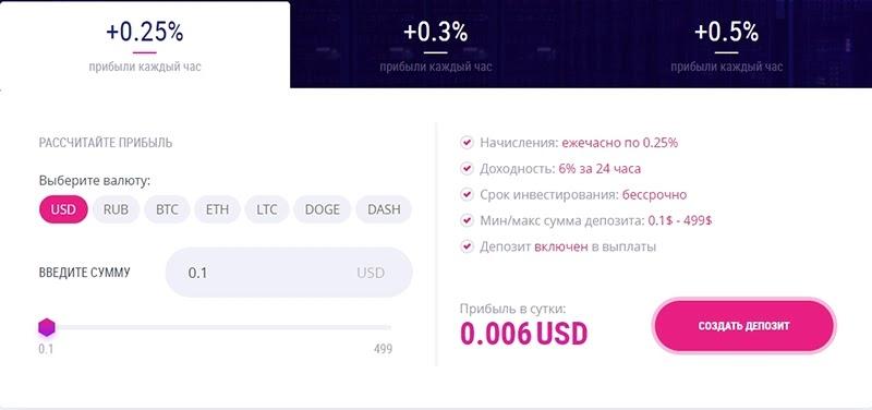 Инвестиционные планы CryptaGram