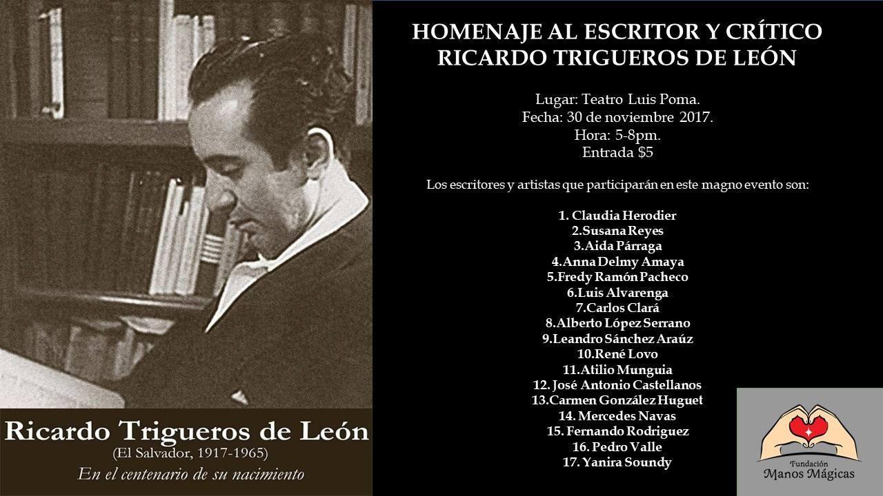 Homenaje Al Escritor Cr Tico Y Editor Salvadore O Ricardo  # Muebles Locos Centenario