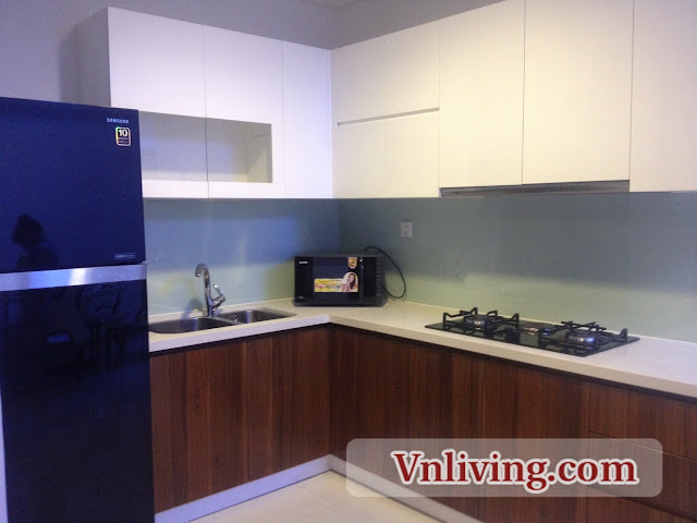 Kitchen Room Thao Dien Pearl Apartment 2 Bedrooms for rent