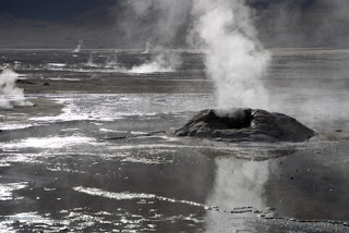 Chile: Géiseres del Tatio