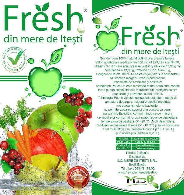 fresh din mere de itesti