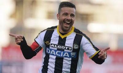 Top Skor Liga Italia Sepanjang Masa Antonio Di Natale