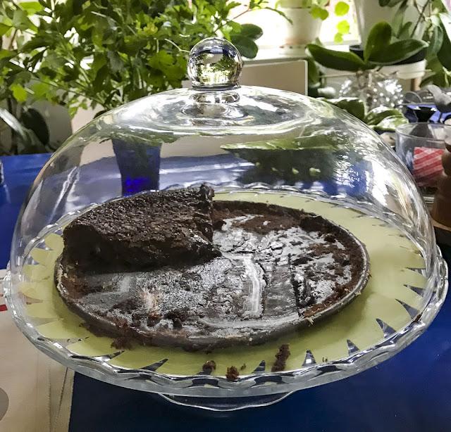 kladdkaka, chocolatecake