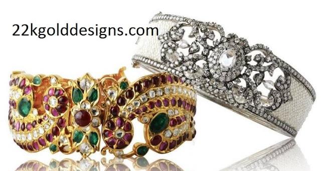 Designer Broad Bangles from Sri Krishna Jewellers