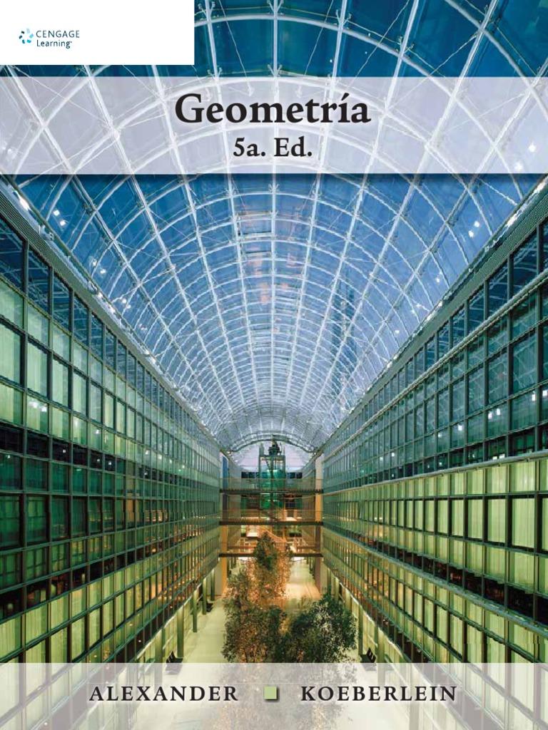 Geometría, 5ta Edición – Daniel C. Alexander