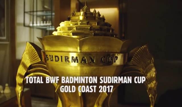 Jadwal Piala Sudirman 2017