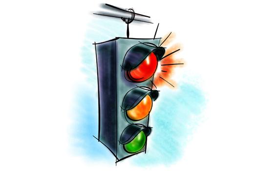 لماذا ألوان إشارات المرور أحمر وأخضر وأصفر؟