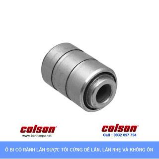 Bánh xe công nghiệp Nylon PA cố định suử dụng ổ bi chịu tải 122kg | S2-5258-255C www.banhxepu.net