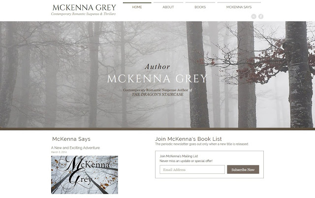 Contemporary Romantic Suspense Author McKenna Grey