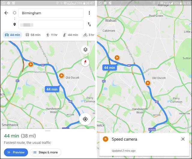 غوغل لا تريدك أن تدفع مخالفات السرعة و تضيف إلى تطبيق Google Maps معرفة مكان رادارات السرعة ! 1366_2000+%284%29.jp
