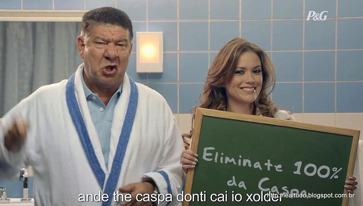 'Head & Shoulders': Joel Santana em 'Donti Révi Caspa