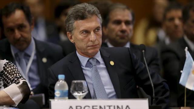 """Macri acusa a Maduro de violar """"todos los derechos humanos"""""""