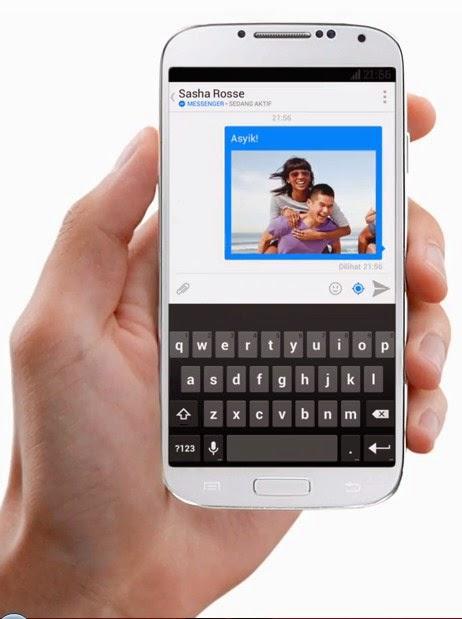Aplikasi Facebook Messenger untuk Android