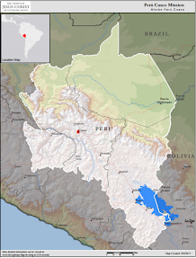 Perú Cusco Mission Map