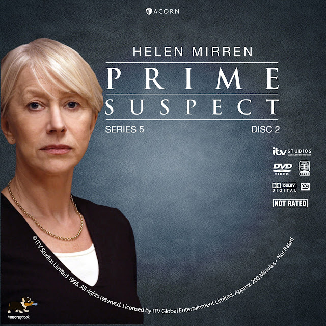 Prime Suspect Season 5 Disc 2 DVD Label