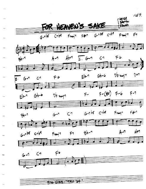 Partitura Violín Bill Evans