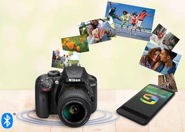 Nikon SnapBridge, dengan koneksi bluetooth setiap jepretan bisa dikirimkan secara otomatis ke smartphone