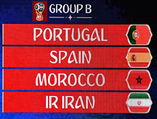 Group B FIFA World Cup 2018