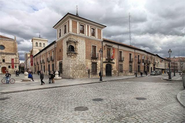 Incendio Valladolid en 1561.