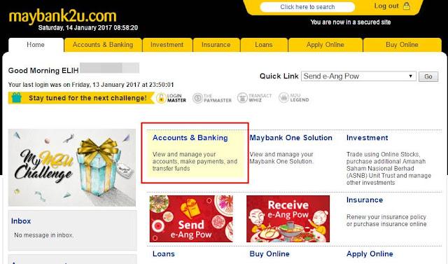 Cara Buat Pengeluaran Duit Di ATM Maybank Tanpa Kad (Cardless)