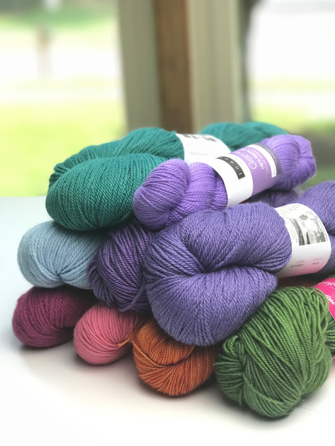 A Rainbow of Yarn