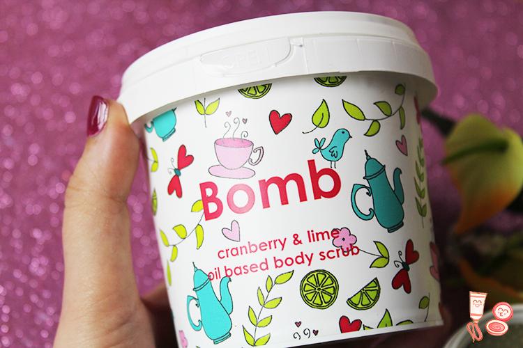 Probando Bomb Cosmetics