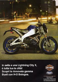 buell xb9 lightning city x pubblicità by hd bologna 2007