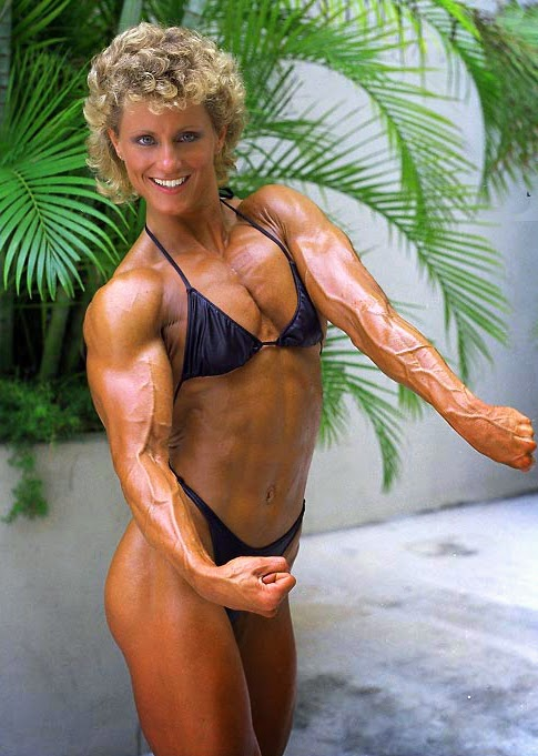 80's Female Muscle: Valerie Basilone