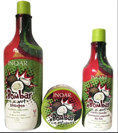 kit produtos low poo inoar bombar