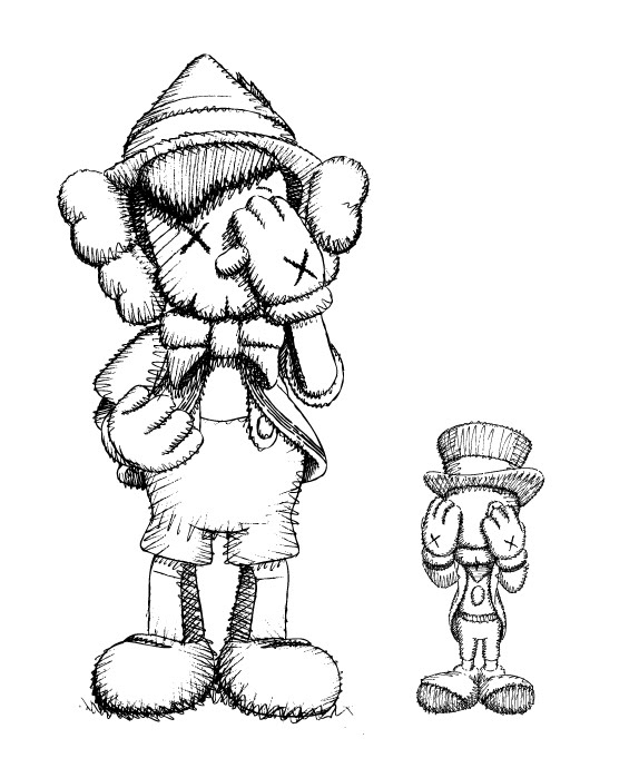 Drawing : KAWS, Disney and the aesthetics of babies